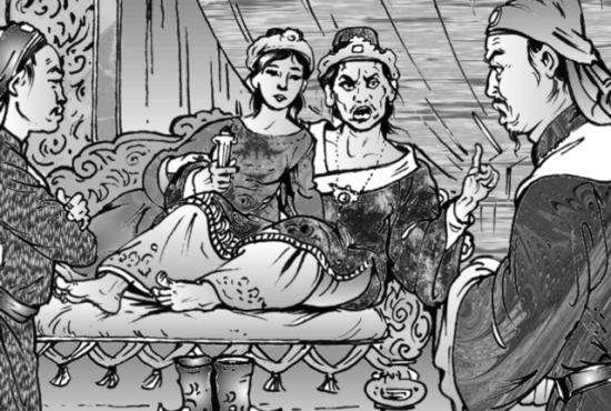 Điềm báo thảm trong giấc mơ mẹ vua Lê Trung Tông