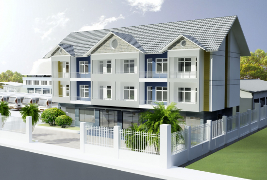 Nhận bảo đảm bằng bất động sản hình thành trong tương lai từ chủ đầu tư dự án nhà ở.
